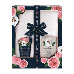 Boudoire Rose Slipper Set